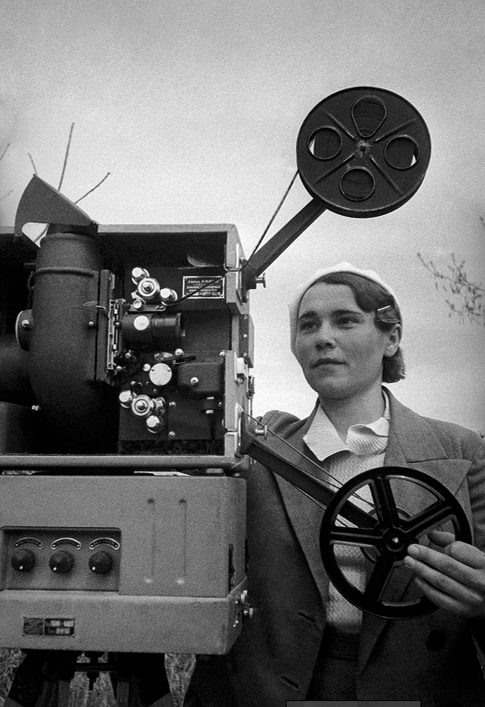 A Female Projectionist, 1930s